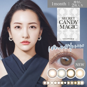 [Contact lenses] secret Candy ...