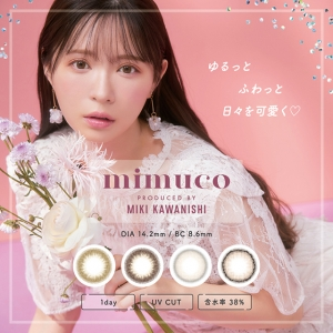 [Contact lenses] mimuco 1day [...