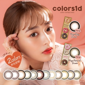 [Contact lenses] Colors1day[10...