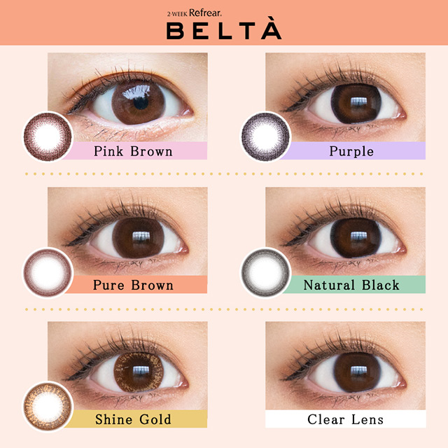 [Contact lenses] BELTA [6 lenses / 1Box] / 2weeks Disposable Colored Contact Lenses<!--ベルタ 1箱6枚入 □Contact Lenses□-->
