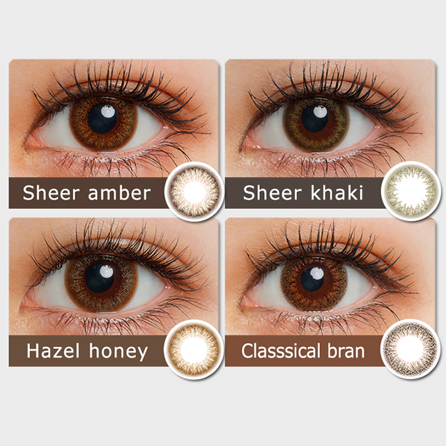 [Contact lenses] Fashionista 1day [10 lenses / 1Box] /Colored Contact Lens 14.2mm Daily Disposal 1Day Disposable<!-- ファッショニスタ 10枚入り □Contact Lenses□ -->