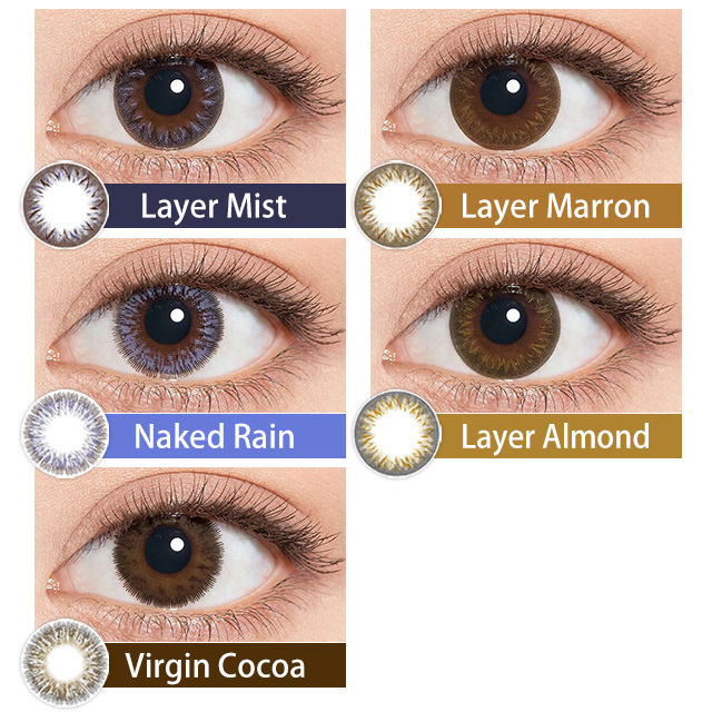 [Contact lenses] Minette [10 lenses / 1Box] / Daily Disposal 1day Disposal Colored Contact Lens DIA14.2mm<!-- ミネット 10枚入り □Contact Lenses□ -->