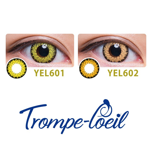 [Contact lenses] Trompe-l'oeil 1day [4 lenses / 1Box] / Daily Disposal Colored Contact Lenses<!--トロンプルイユワンデー 1箱4枚入 □Contact Lenses□-->