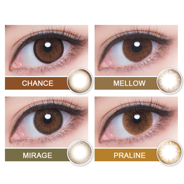 [Contact lenses] Pienage Luxe [10 lenses / 1Box] / Daily Disposal 1Day Disposable Colored Contact Lens DIA14.5mm<!-- ピエナージュリュクス 10枚入り □Contact Lenses□ -->