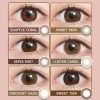 [Contact lenses] EYE GENIC by EVERCOLOR [1 lens / 1Box] / Monthly Disposal 1Month Disposable Colored Contact Lenses DIA14.5mm<!-- アイジェニック バイ エバーカラー 度あり 1箱1枚入 □Contact Lenses□-->