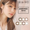 [Contact lenses] AND MEE 1day [10 lenses / 1Box] / Daily Disposal Colored Contact Lenses<!--アンドミーワンデー 1箱10枚入 □Contact Lenses□-->