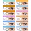 [Contact lenses] CRUUM [10 lenses / 1Box] / Daily Disposal Colored Contact Lenses<!--クルーム 1箱10枚入 □Contact Lenses□-->