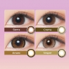 [Contact lenses] GENISH [2 lenses / 1Box] / 1Month Disposable Colored Contact Lenses<!--ジェニッシュ 度あり2枚入り 1箱2枚入 □Contact Lenses□-->