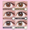 [Contact lenses] Flurry by Colors [10 lenses / 1Box] / Daily Disposal Colored Contact Lenses<!--フルーリーバイカラーズ 1箱10枚入 □Contact Lenses□-->